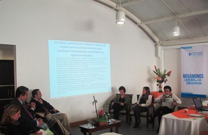 Diálogo sobre el proceso de la Alianza para Gobierno Abierto en Colombia