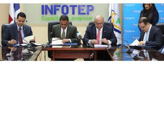 AFP Popular, INFOTEP y Fundación Popular formarán en valores y ética profesional a estudiantes técnicos
