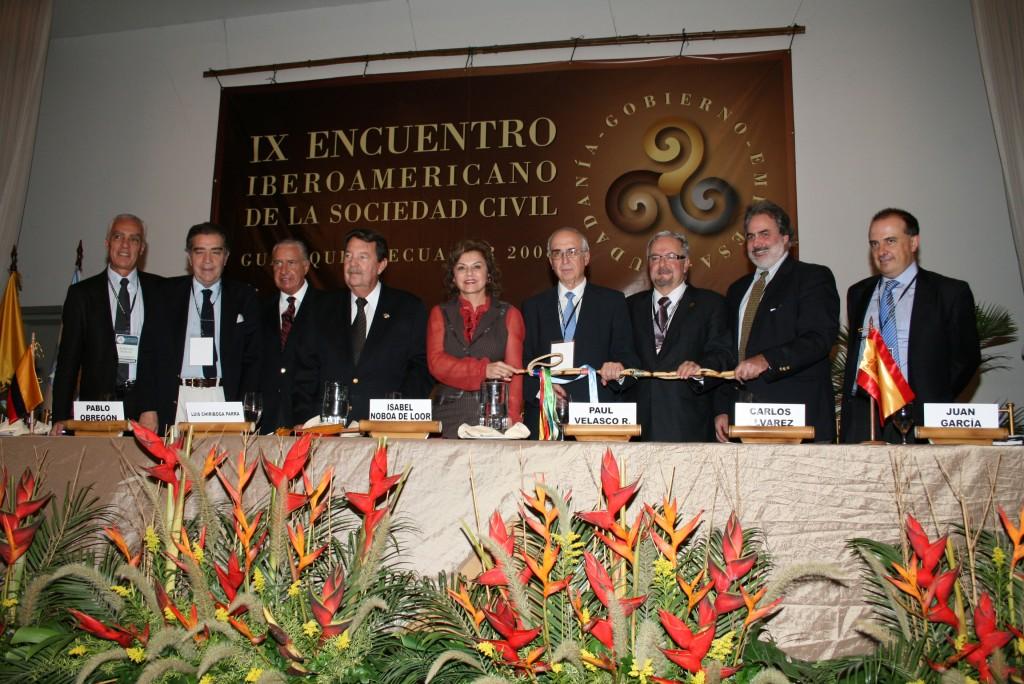 Clausura del Encuentro ded 20018 en Guayaquil